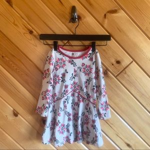 Tea Collection Floral Printed Swing Dress 3 Print